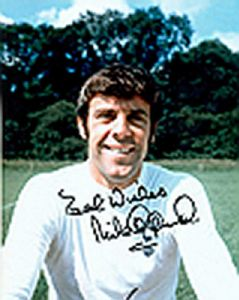 Mike England, Football, Genuine Signed Autograph (02)